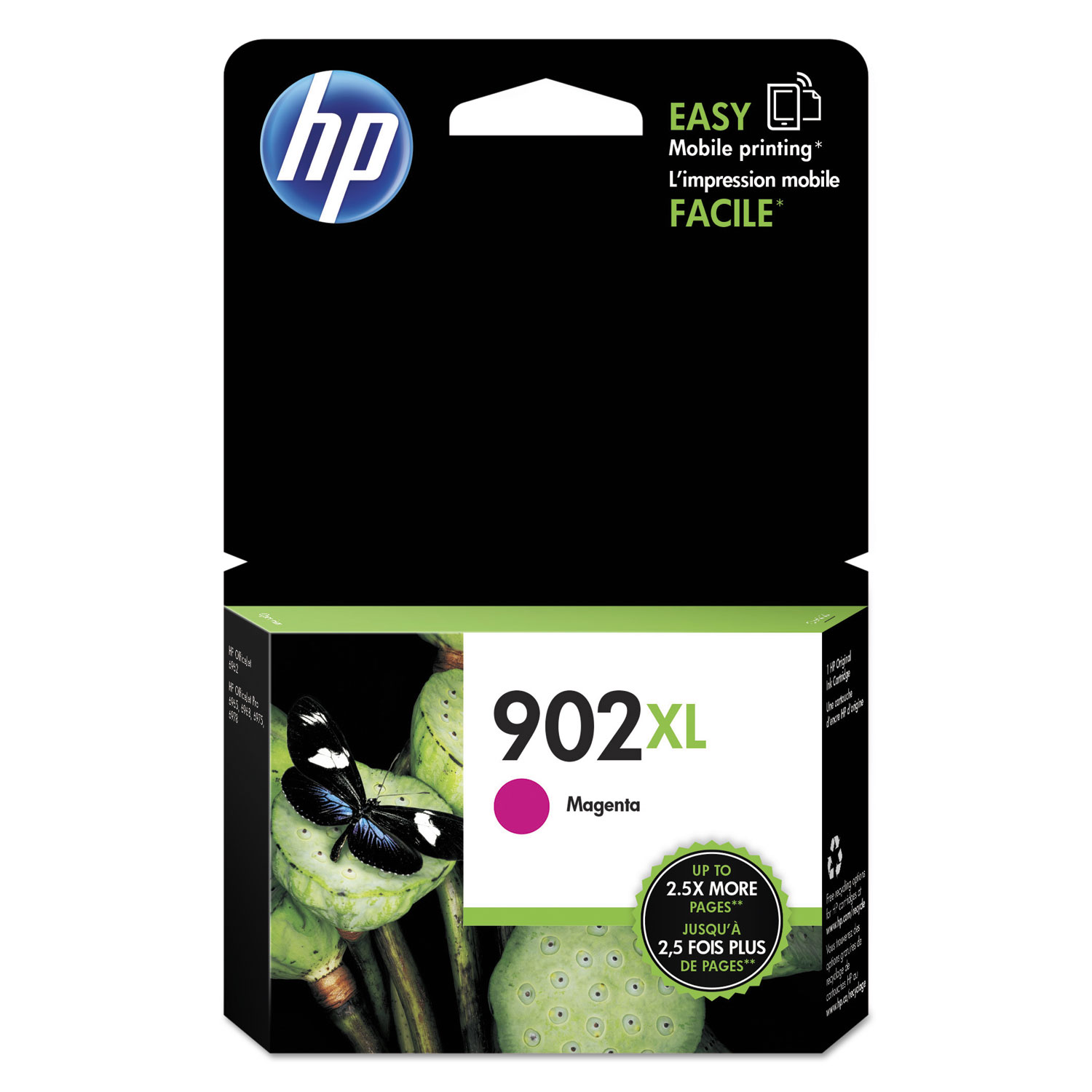 HP 902XL T6M06AN High-Yield Magenta Original Ink Cartridge
