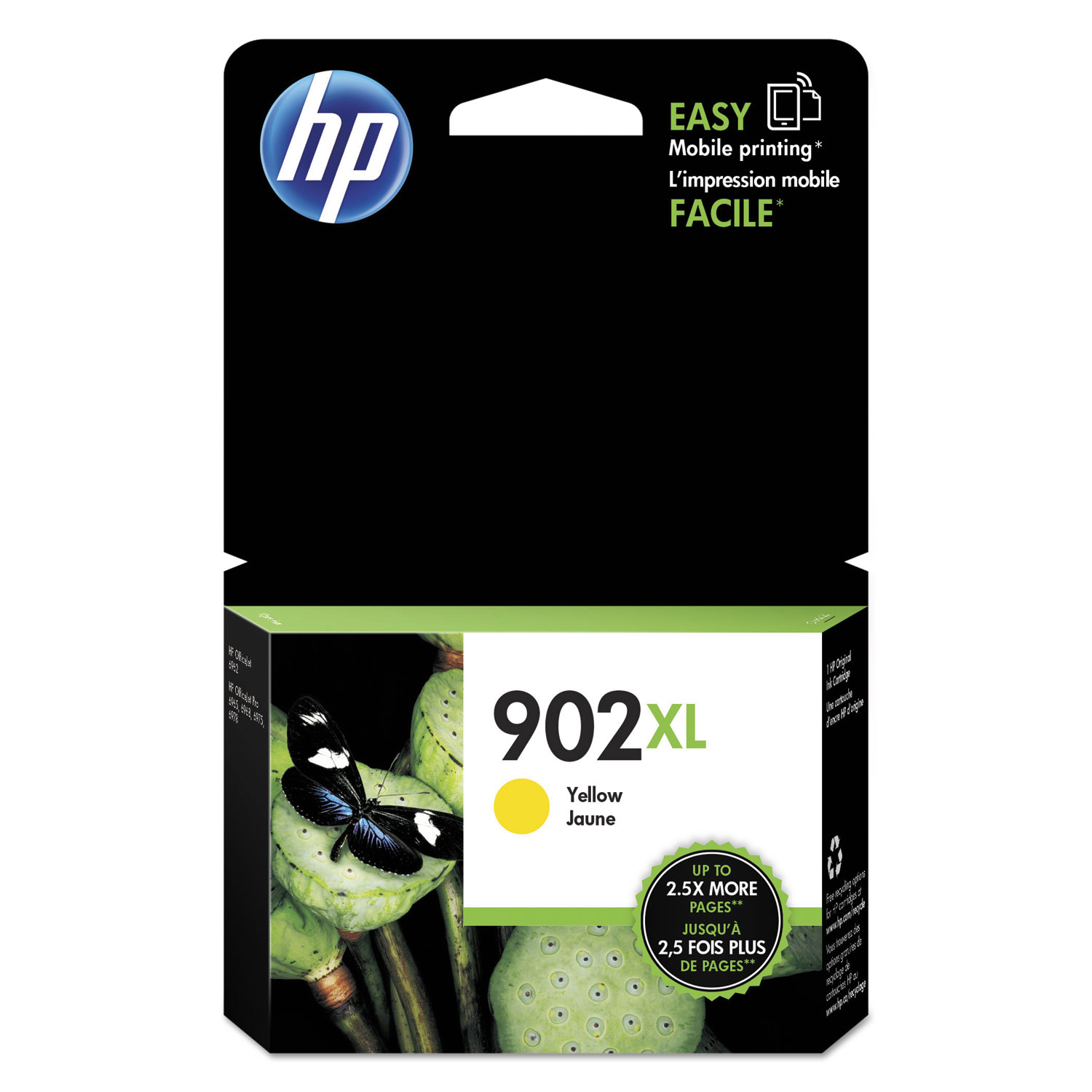 HP 902XL T6M10AN High-Yield Yellow Original Ink Cartridge