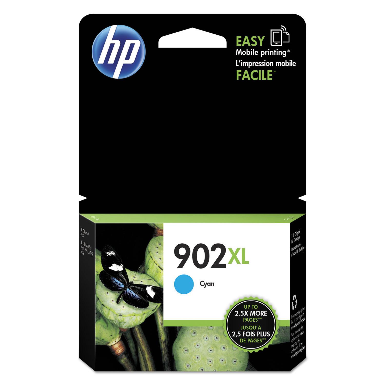 HP 902XL T6M02AN High-Yield Cyan Original Ink Cartridge