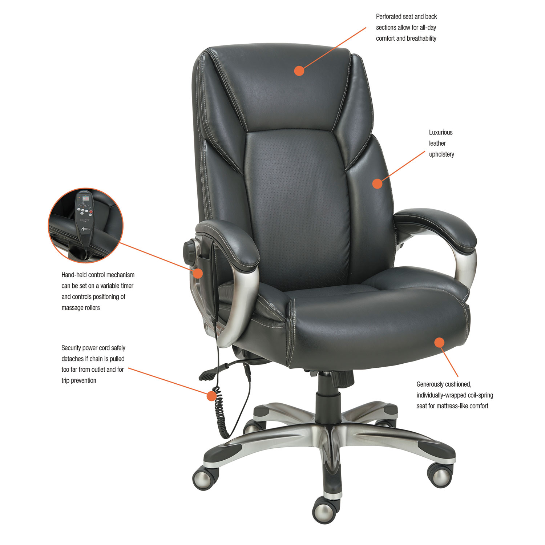 Shiatsu Massage Chair by Alera ALESH7019 TimeSupplies