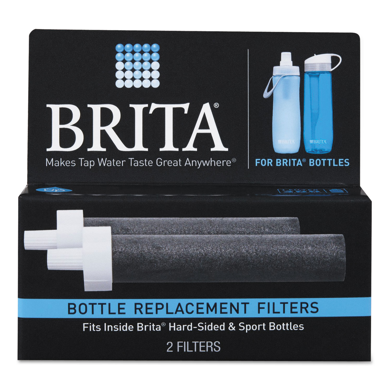 Water Filter Bottle Replacement Filters for 35808 by Brita ...