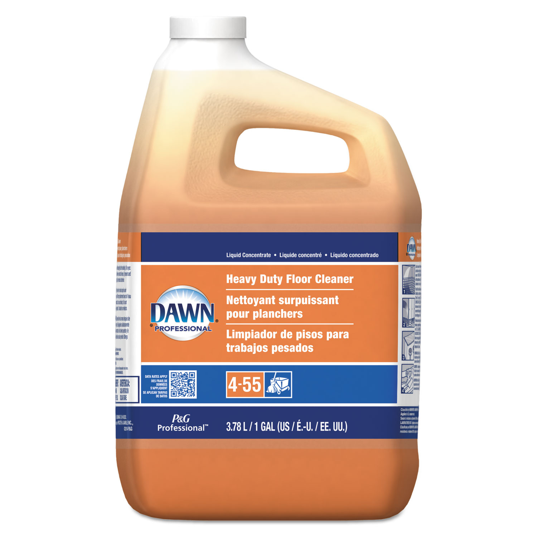 Heavy-Duty Floor Cleaner, Neutral Scent, 1gal Bottle, 3/Carton