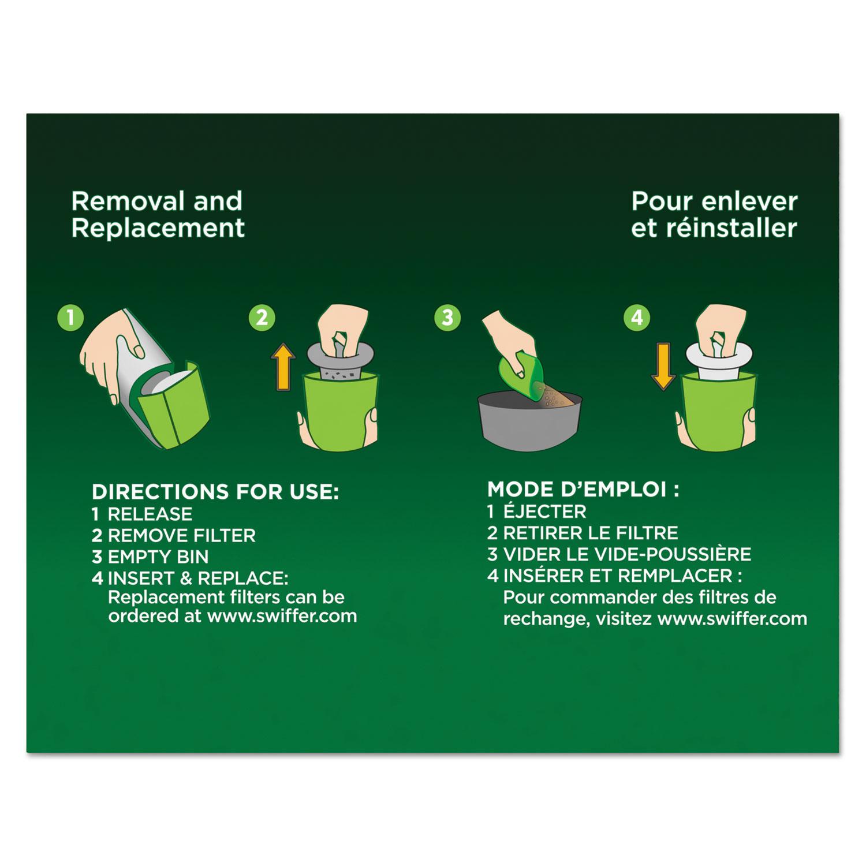 Sweeper Vac Replacement Filter, OEM, 24/Carton