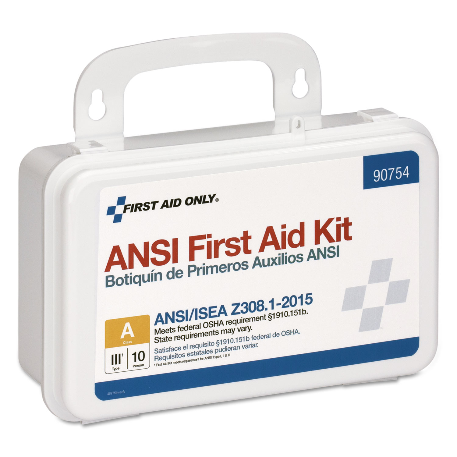 ANSI Class A 10 Person First Aid Kit, 71 Pieces - Action
