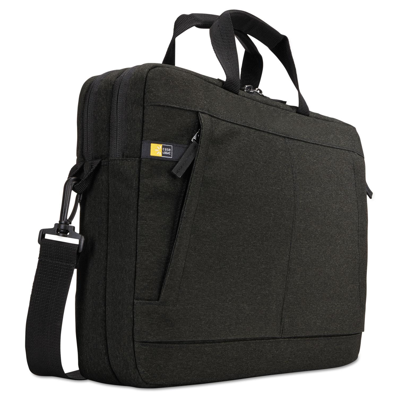 "Huxton 15.6"" Laptop Bag, 2 7/8 x 16 x 11 7/8, Black"