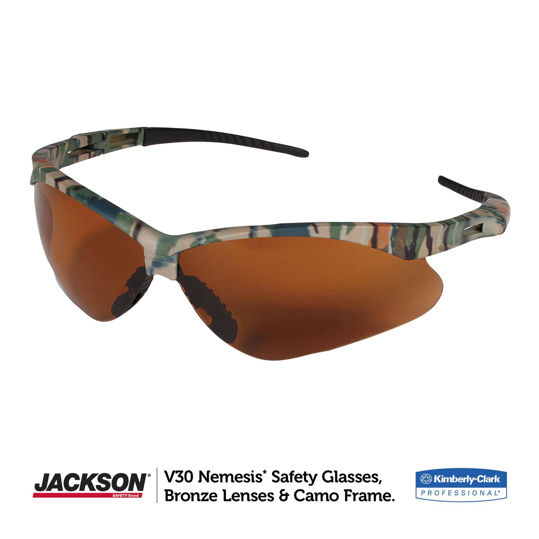 Nemesis Safety Glasses by Jackson Safety* KCC19644 | OnTimeSupplies.com