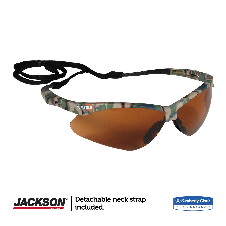 Nemesis Safety Glasses by Jackson Safety* KCC19644   OnTimeSupplies.com