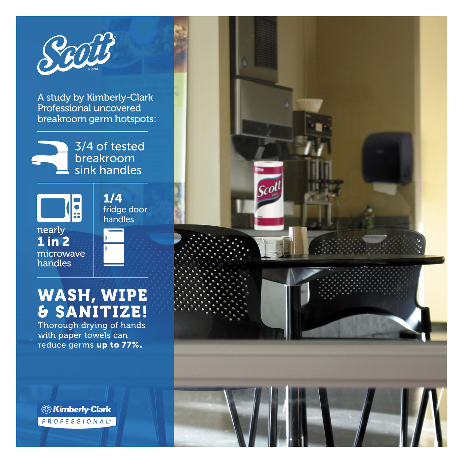 Kitchen Roll Towels by Scott® KCC41482 | OnTimeSupplies.com