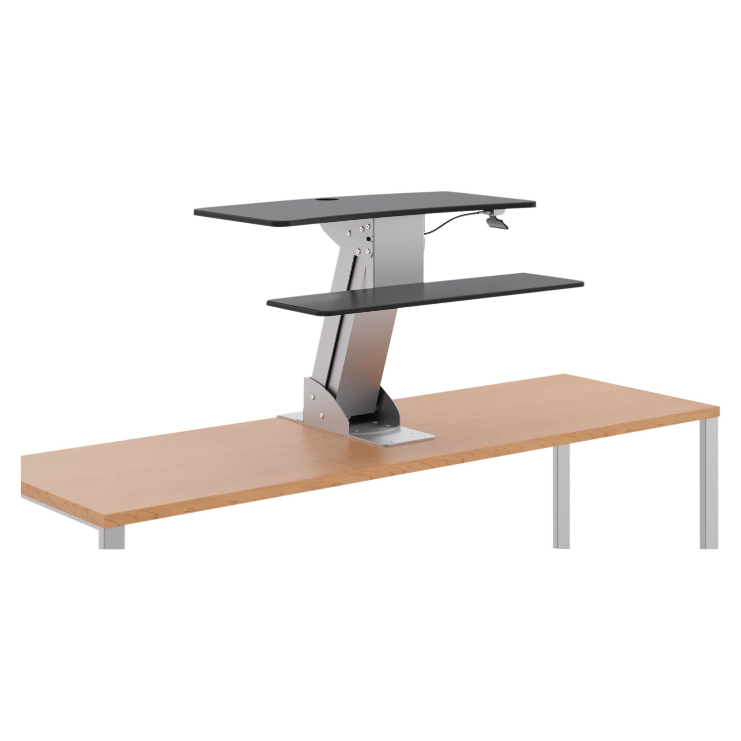 Directional Desktop SittoStand Riser Without Monitor Arm By HON - Hon computer table