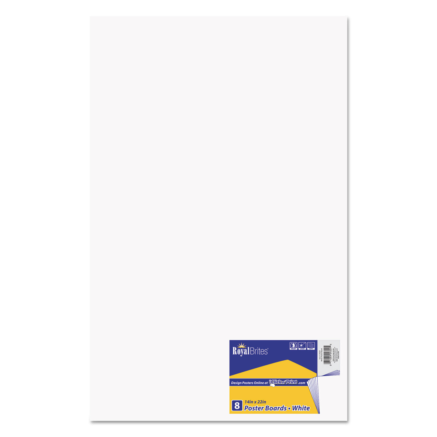 Premium Coated Poster Board By Royal Brites Geo24324