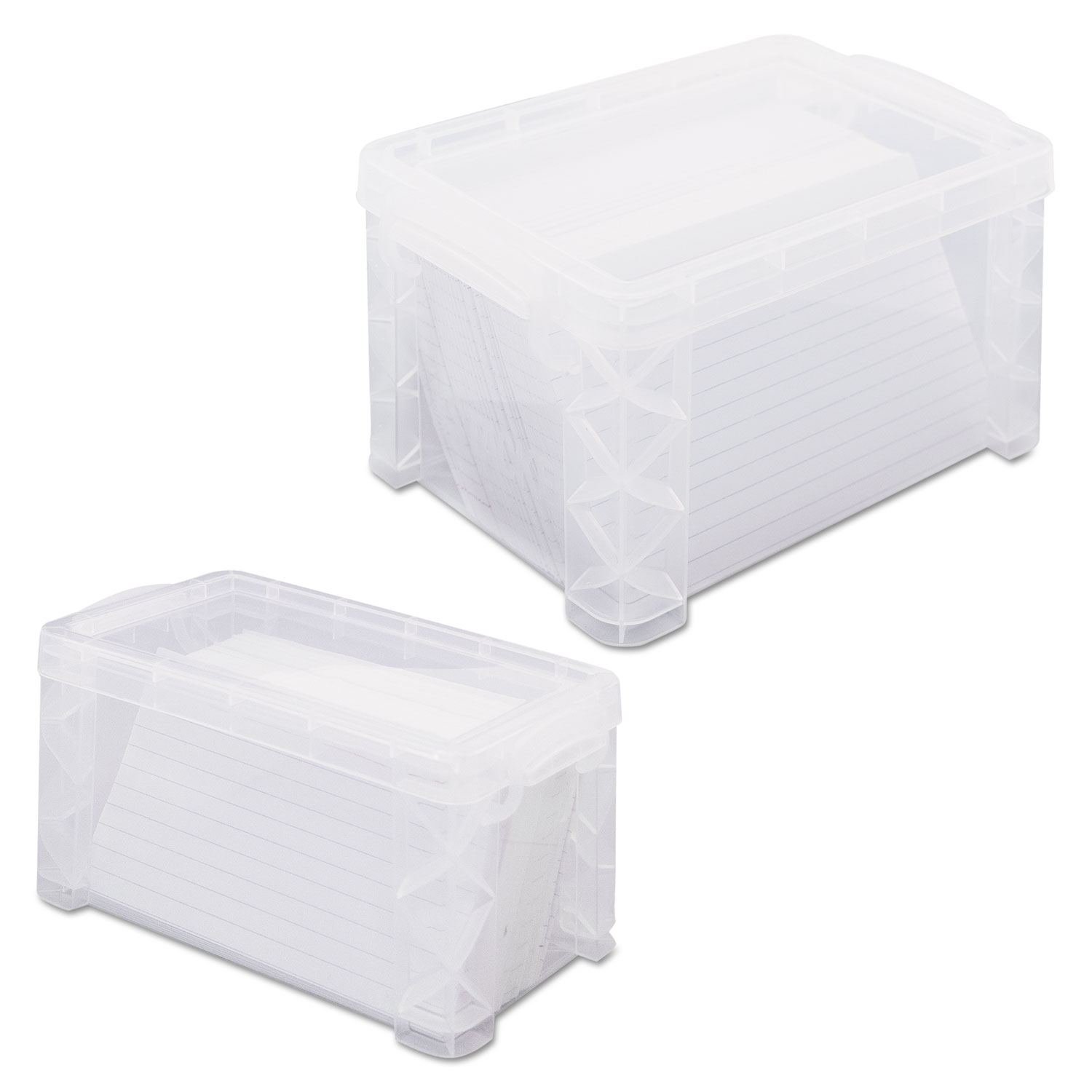 Purchase super stacker card file box and other business card advantus super stacker card file box reheart Choice Image