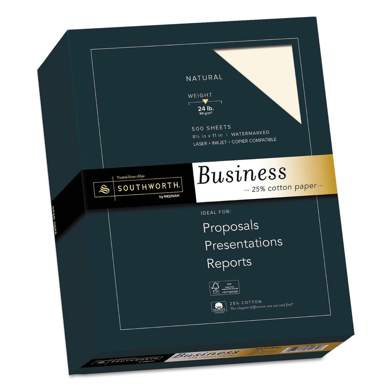25 Cotton Business Paper By Southworth 174 Sou404nc