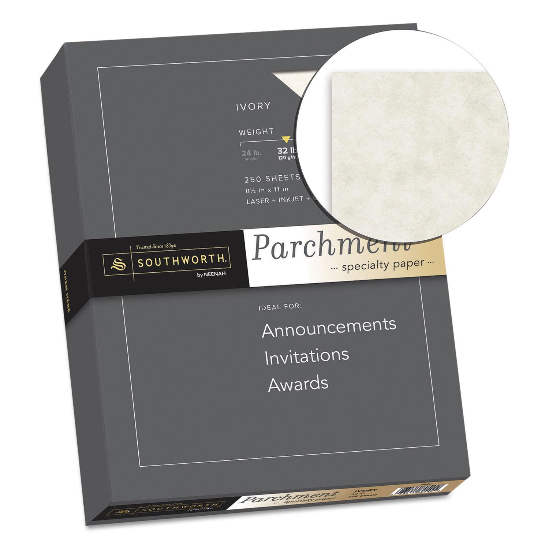 souj988c southworth parchment specialty paper