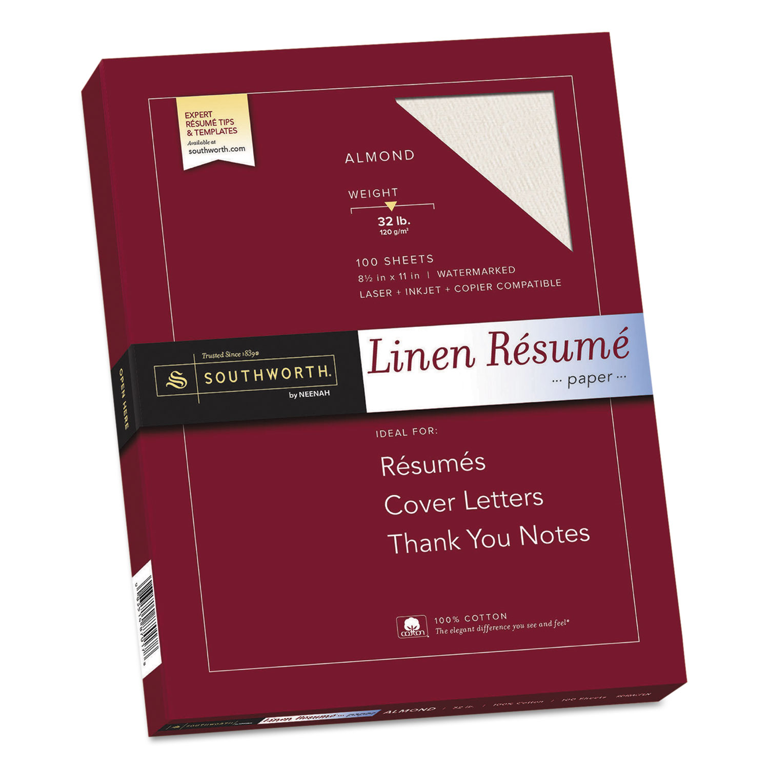 Discover 100 Cotton Premium Weight Linen Resume Paper And Other