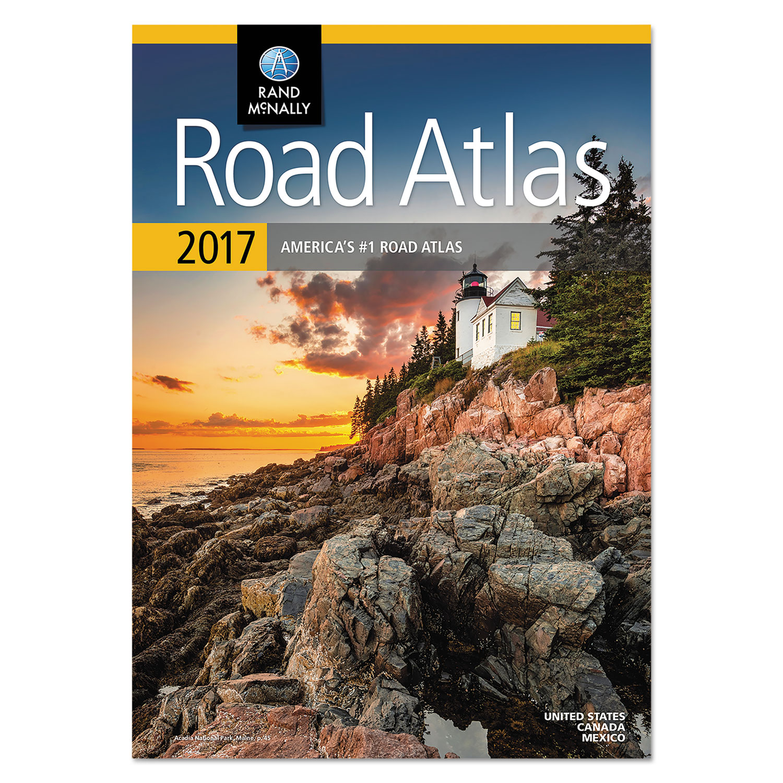 Road Atlas, North America+Puerto Rico, Soft Cover, 2017
