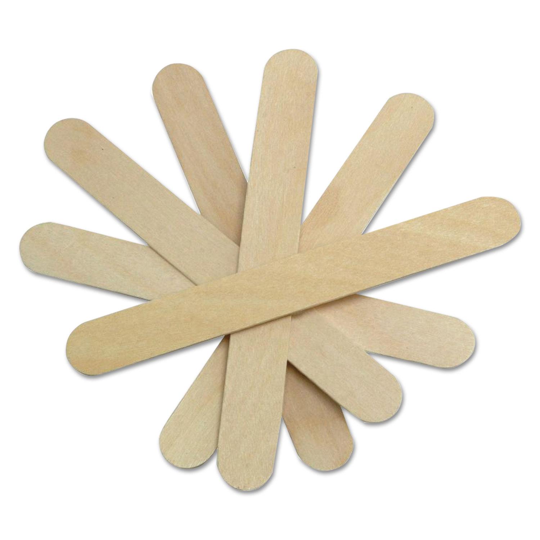 Non-Sterile Tongue Depressors, Wood, 6, 500/Box
