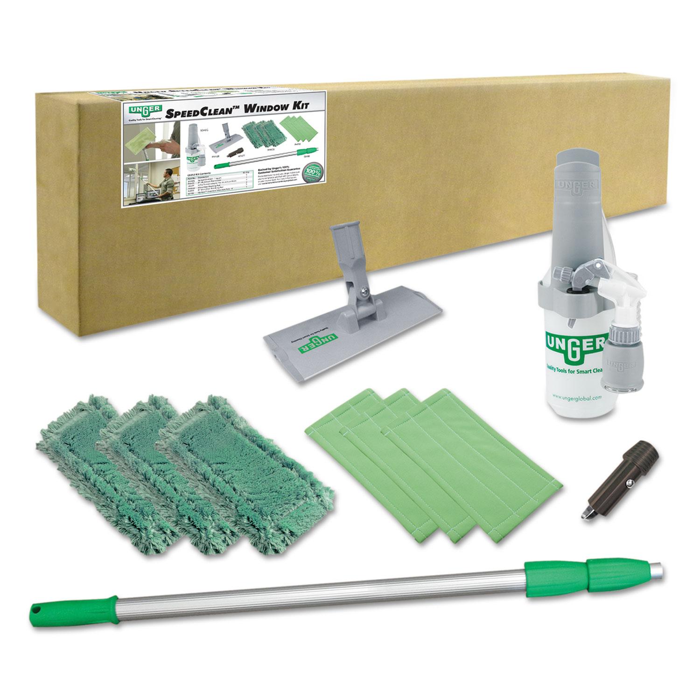 Unger Indoor Window Cleaning Kit Aluminum 72 Quot Extension