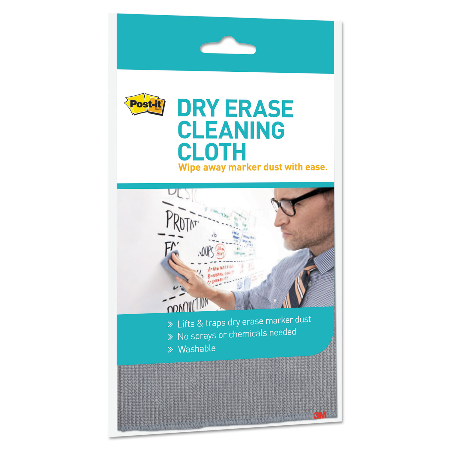 dry erase cleaning cloth by post it mmmdefcloth ontimesupplies com