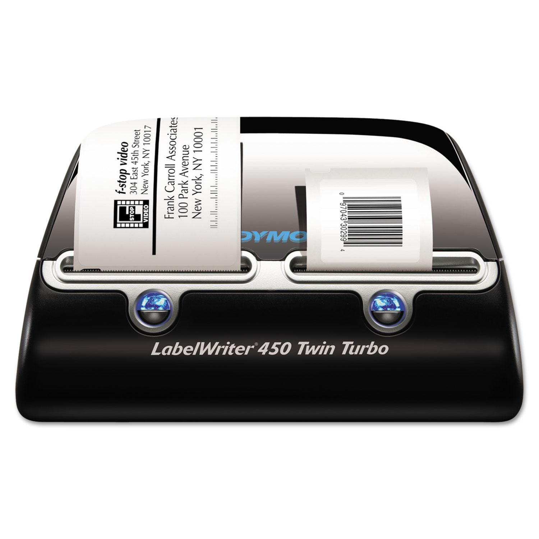 LabelWriter 450 Twin Turbo Printer, 71 Labels/Min, 5.5w x 8.4d x 7.4h