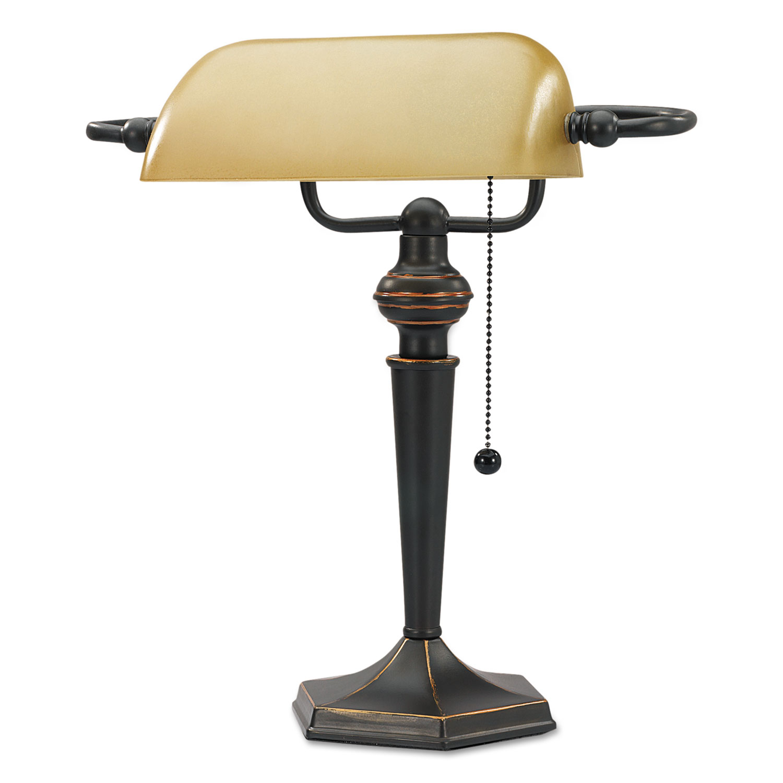 finish desk shown inch cfm banker in ls bankers lamp magnifying source lite high image glass item ii black capitol