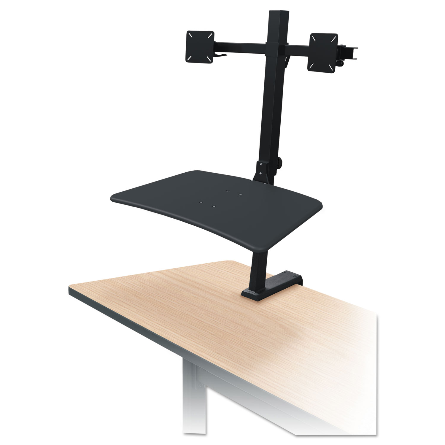 Up Rite Rear Mounted Sit Stand Workstation By Balt