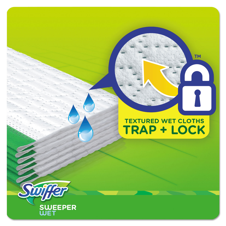 Swiffer 174 Wet Refill Cloths Open Window Fresh Cloth