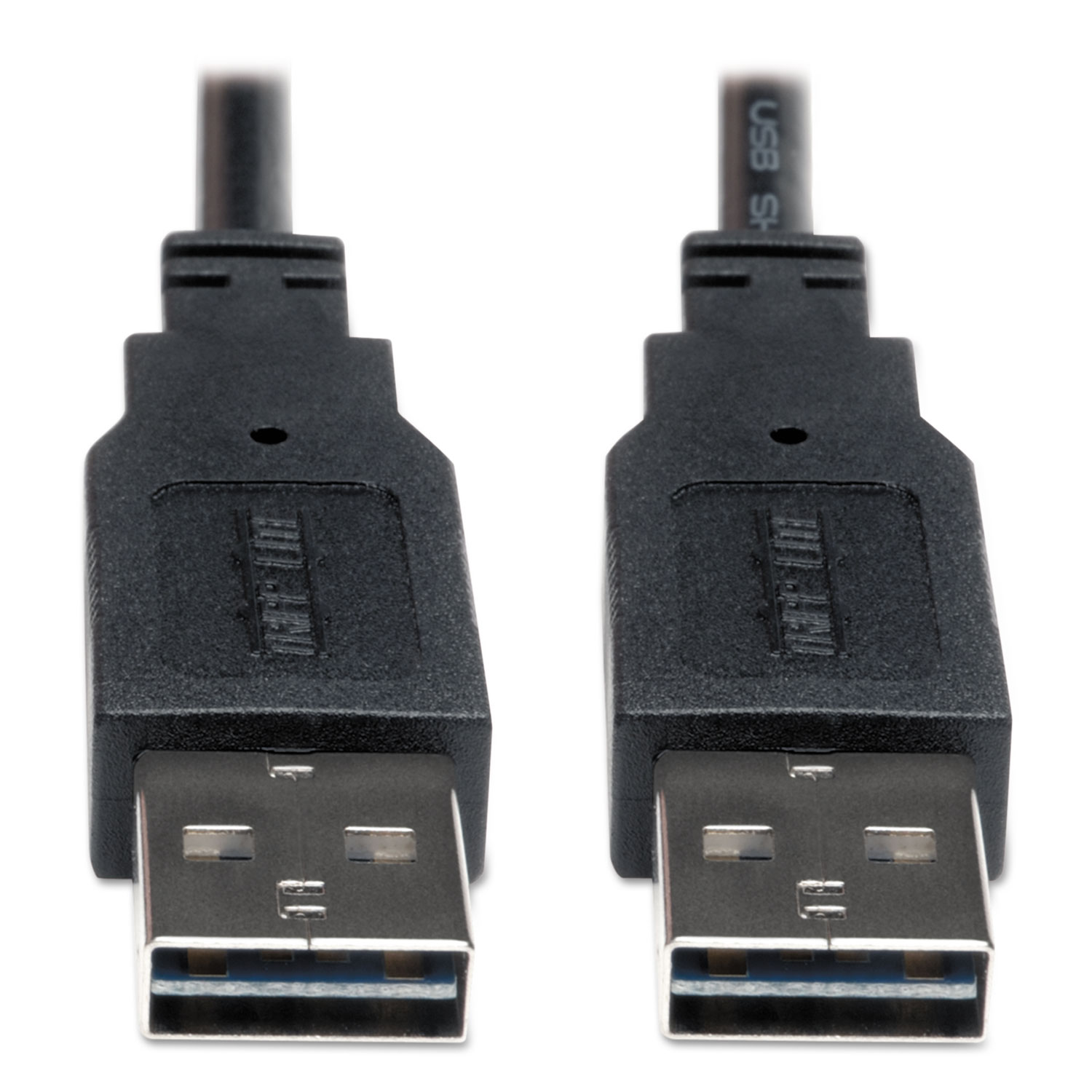 Universal Reversible USB 2.0 Cable, Reversible A to Reversible A (M/M), 6 ft.