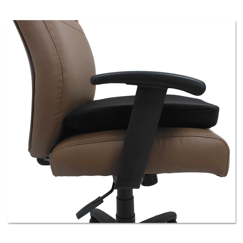 Cooling Gel Memory Foam Seat Cushion by Alera ALECGC511