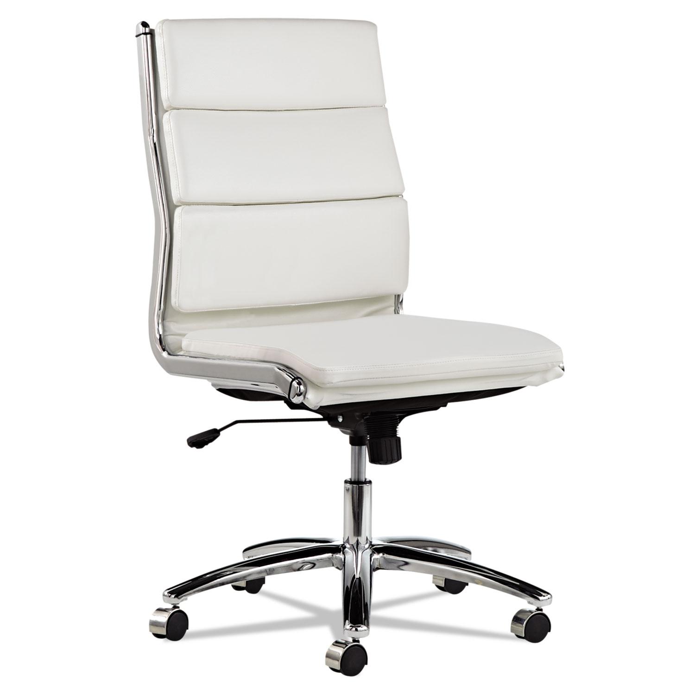 Alera Neratoli Mid Back Swivel Tilt Chair by Alera ALENR4206