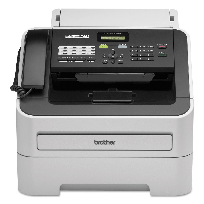 IntelliFAX-2940 Laser Fax Machine, Copy/Fax/Print