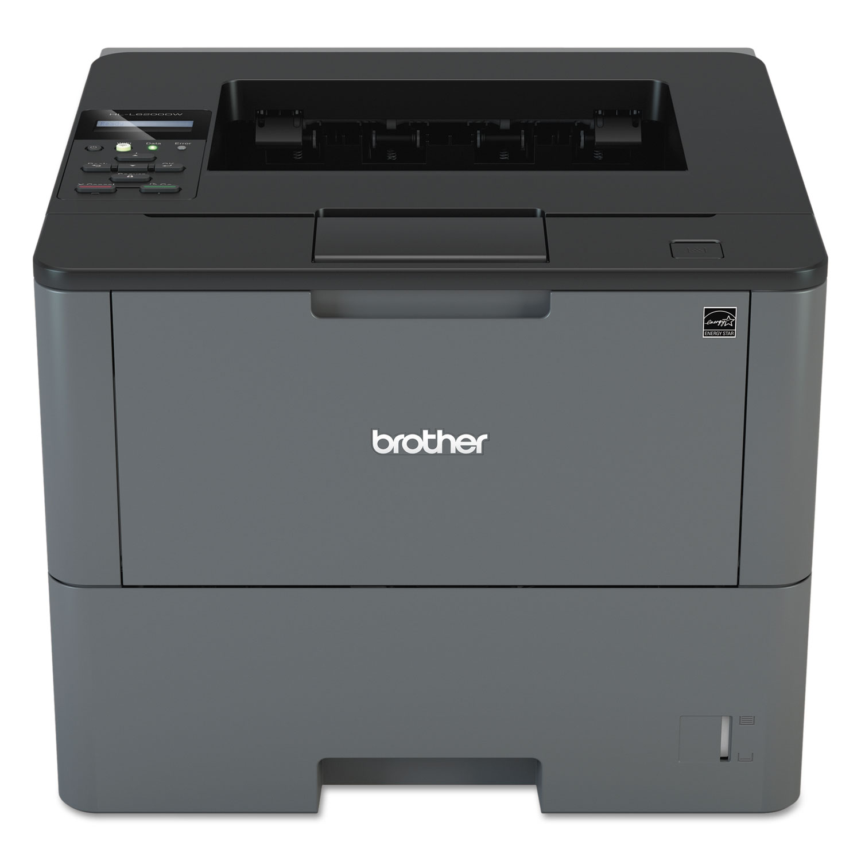 HL-L6200DW Business Monochrome Wireless Laser Printer, Automatic Duplex Printing