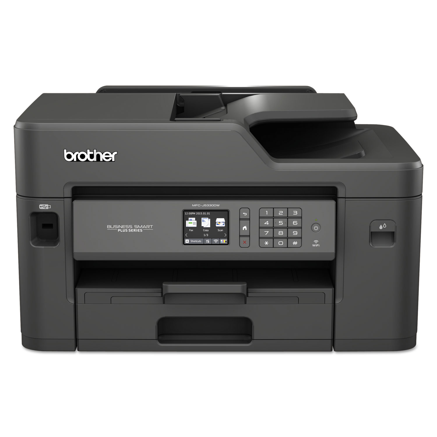 Business Smart Plus MFC-J5330DW Color Inkjet All-in-One, Copy/Fax/Print/Scan