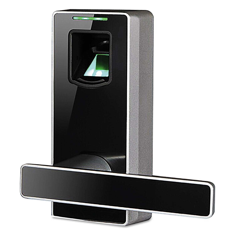 MD1000 Biometric Door Lock, 6 x 8 x 6, Black