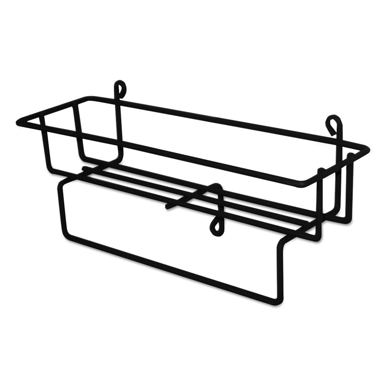RTD 1.5 Liter Wire Basket, Black, 12/Ctn