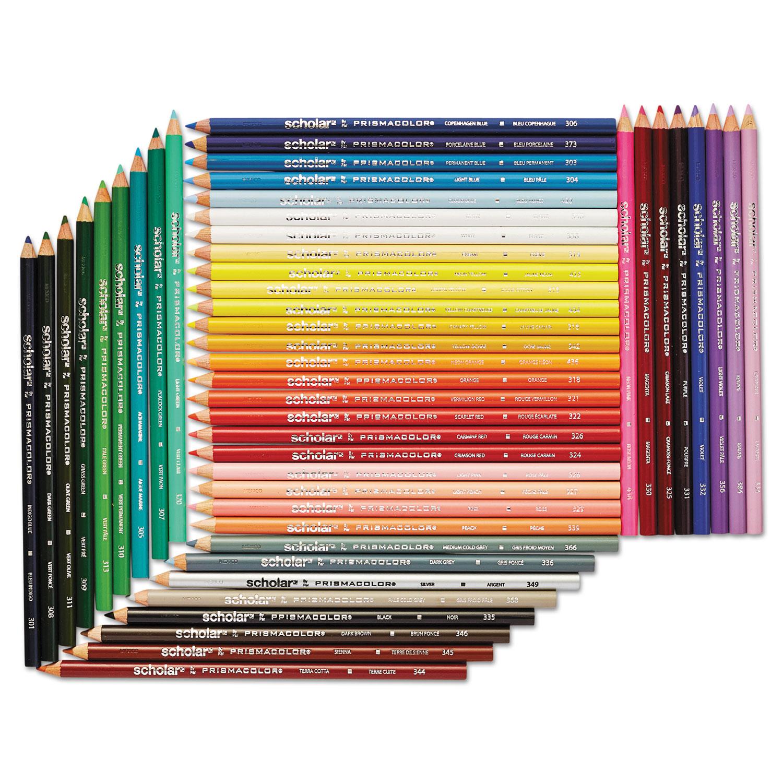 SAN92807 Prismacolor Scholar Colored Pencil Set - Zuma