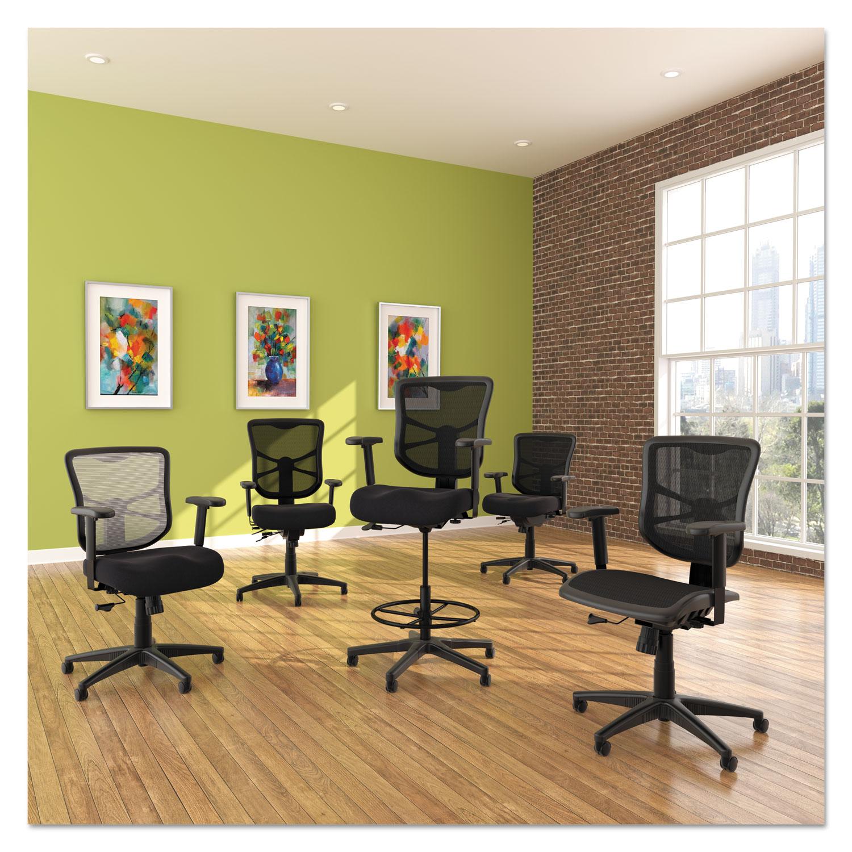 Alera Elusion Series Mesh Mid Back Multifunction Chair by Alera ALEELMEB TimeSupplies