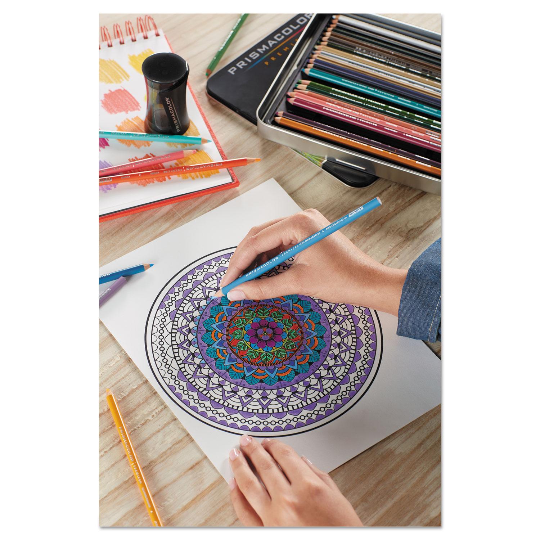 Prismacolor Premier Colored Pencil White Lead//Barrel Dozen 3365