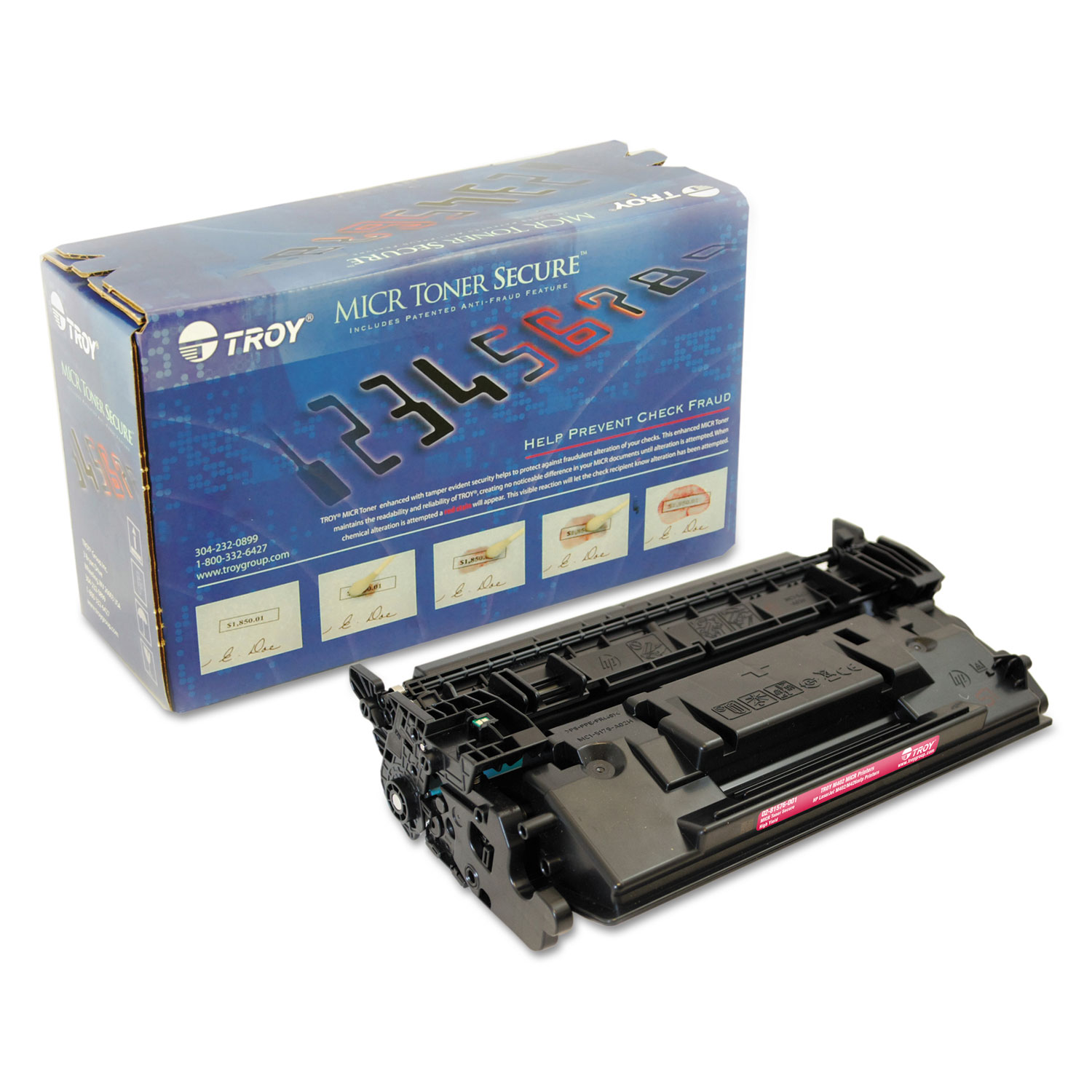 Remanufactured Alernative for 0281576001 226X High-Yield MICR Toner Secure, Alternative for HP CF226X, Black