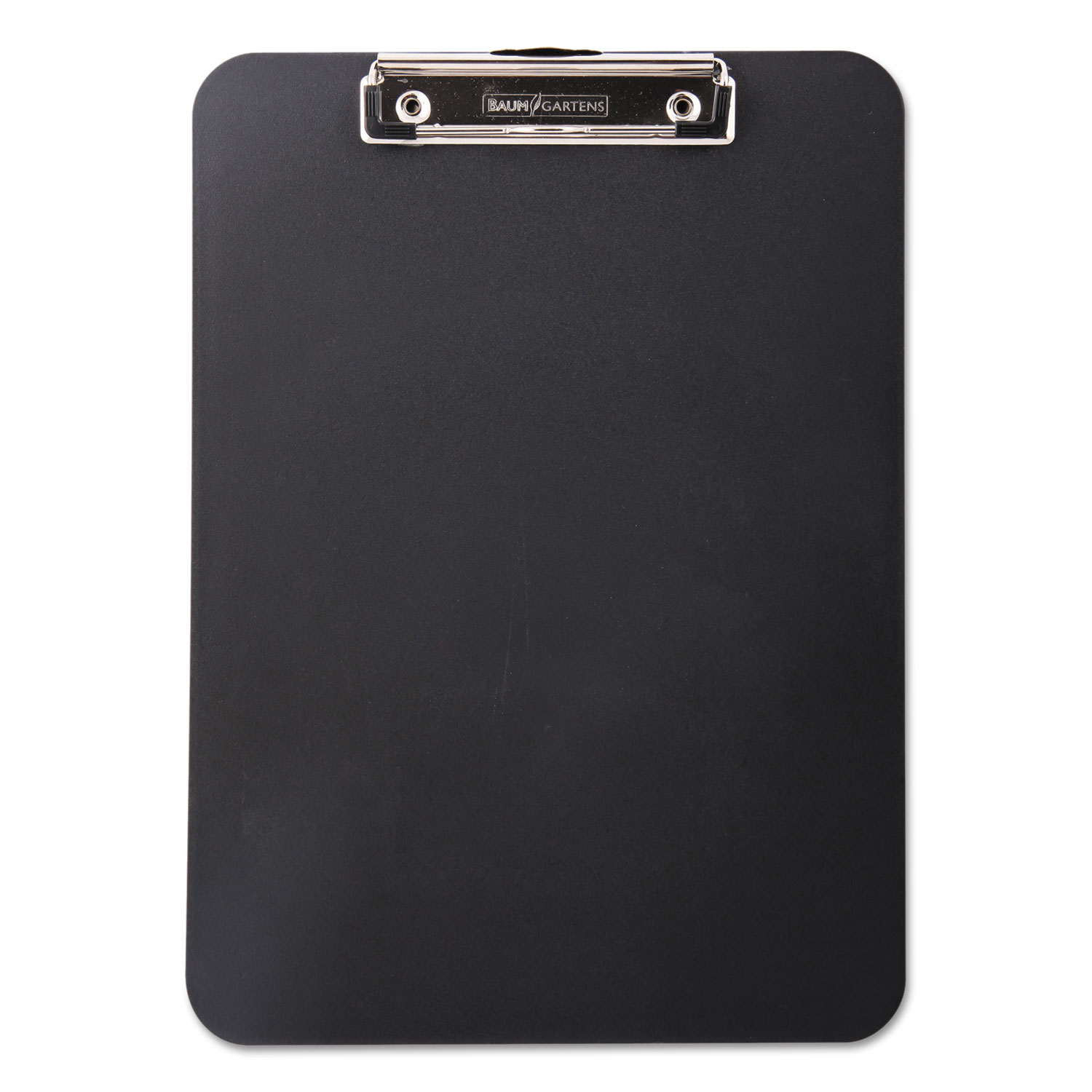 """Unbreakable Recycled Clipboard, 1/2"""" Capacity, 8 1/2 x 11, Black"""