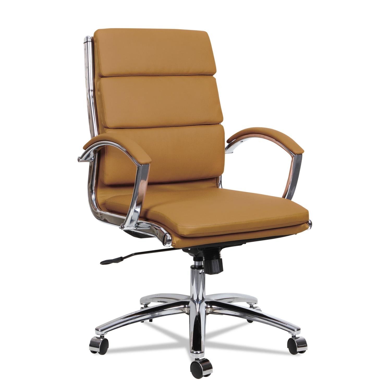 Alera Neratoli Mid Back Slim Profile Chair by Alera ALENR4259