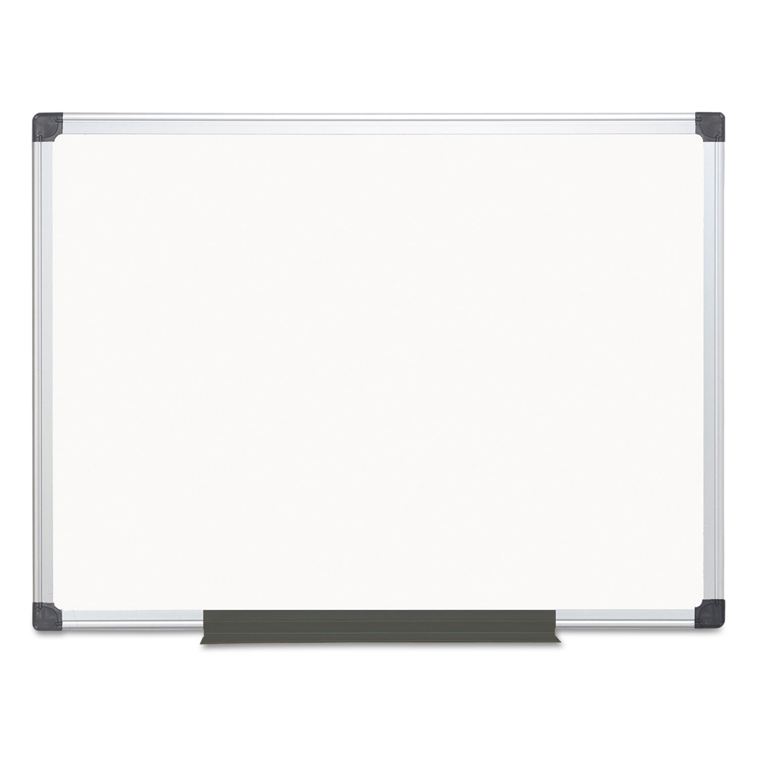 Metal Dry Erase Board : Value lacquered steel magnetic dry erase board by