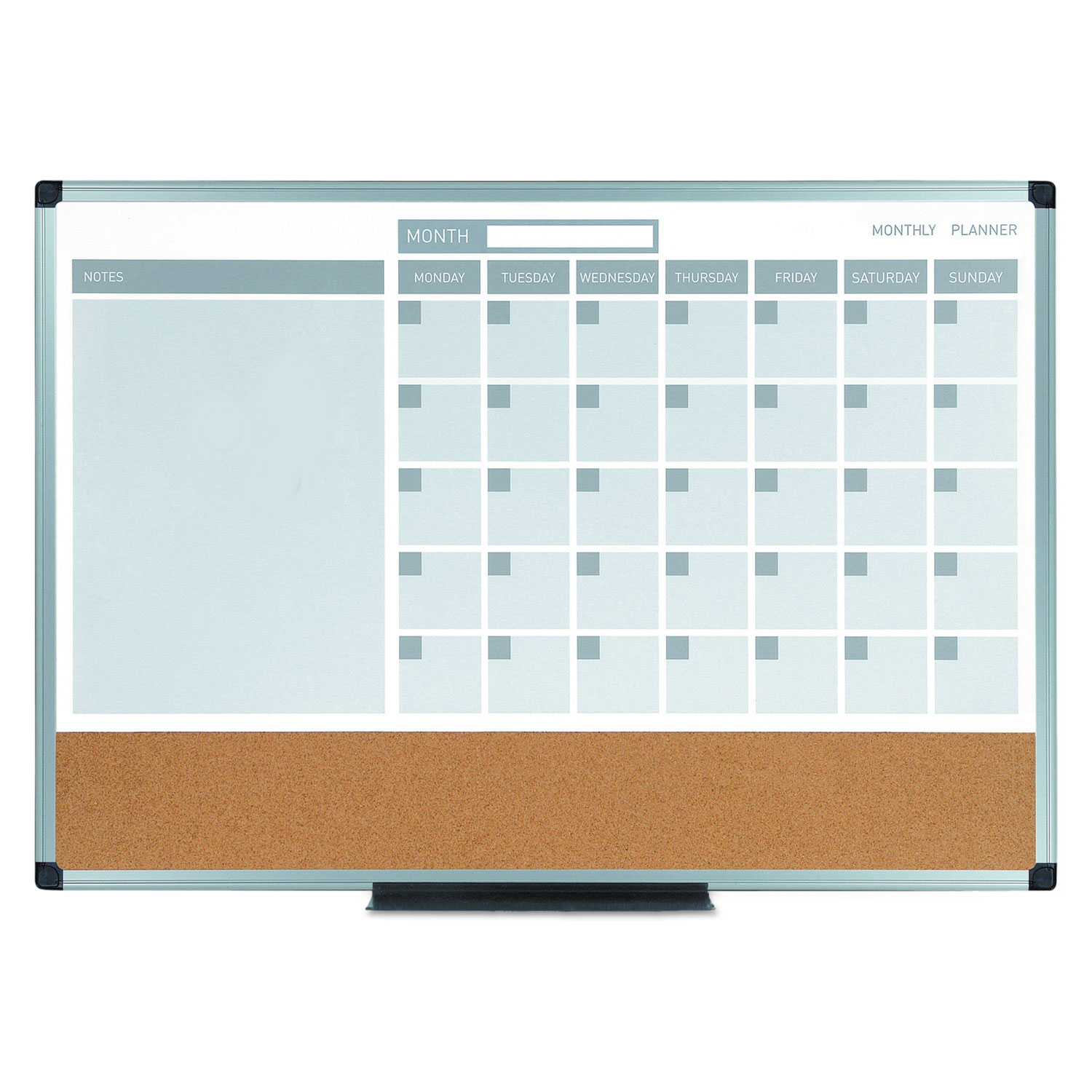 3 In 1 Calendar Planner Dry Erase Board By Mastervision