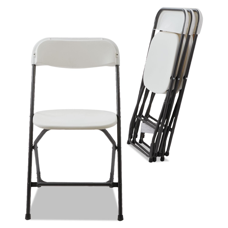 Economy Resin Folding Chair by Alera ALEFR9502 TimeSupplies