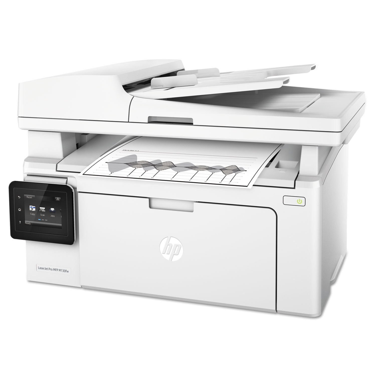 LaserJet Pro MFP M130fw Multifunction Printer, Copy/Fax/Print/Scan