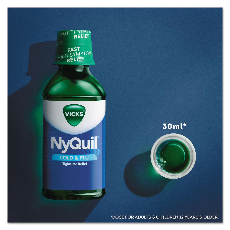 nyquil cold flu nighttime liquid by vicks pgc01426ea rh ontimesupplies com