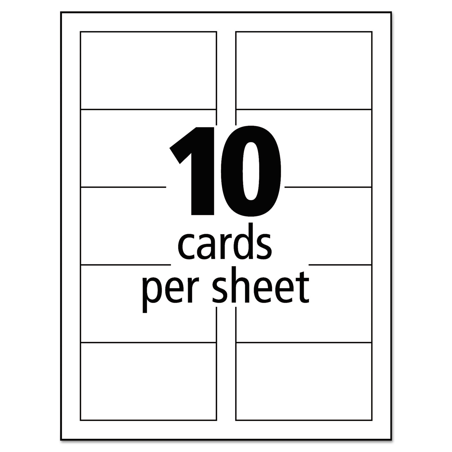100+ [ Template For Business Cards 10 Per Sheet ] | Download A ...
