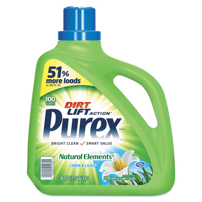 Ultra Natural Elements HE Liquid Detergent, Linen and Lilies, 150 oz Bottle