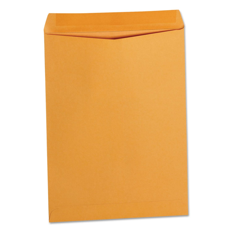 Catalog Envelope, Center Seam, 9 X 12, Brown Kraft, 250/Box