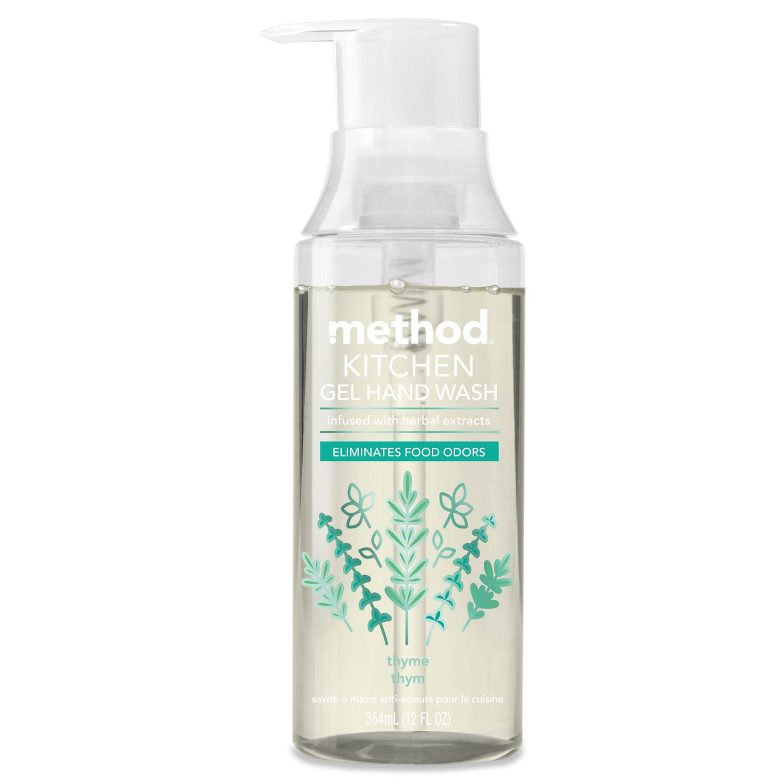 Kitchen Gel Hand Wash, Thyme, 12 oz Pump Bottle