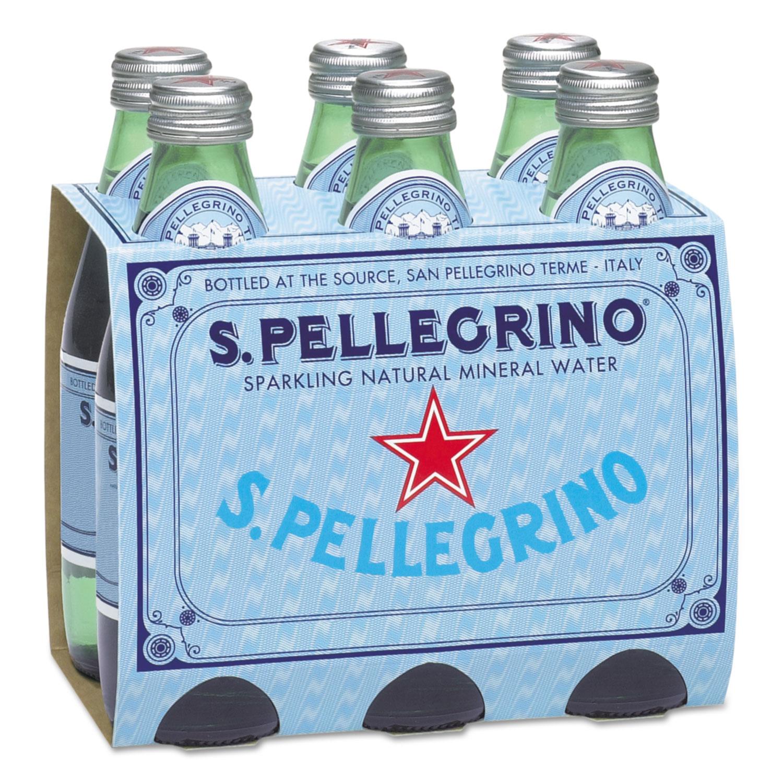 2ed4f112dc Sparkling Natural Mineral Water, 8 oz Bottle, 24/Carton - Sani-Chem ...